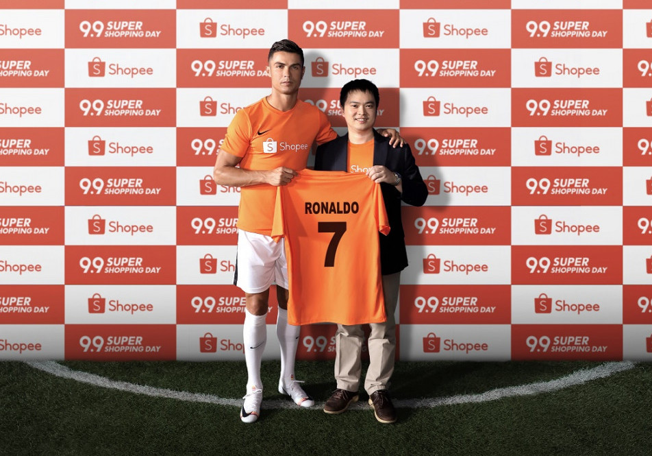Shopee, Chris Feng, endorsement, brand ambassadors