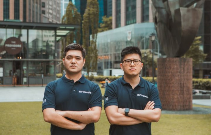 Finantier Co-Founders Diego Rojas and Keng Low