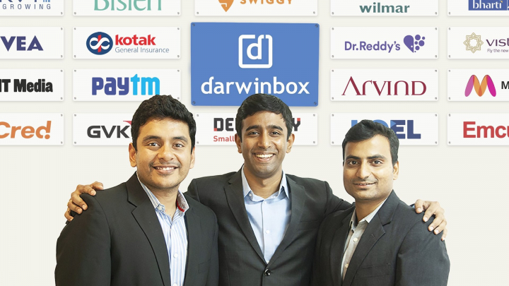 Darwinbox Co-founders - Left to Right - Rohit, Jayant, Chaitanya