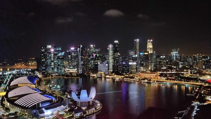 Singapore skyline SGX SPAC
