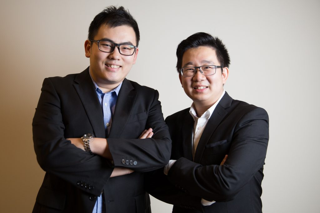 iStore iSend Co-Founders Tommy Yong and Joe Khoo