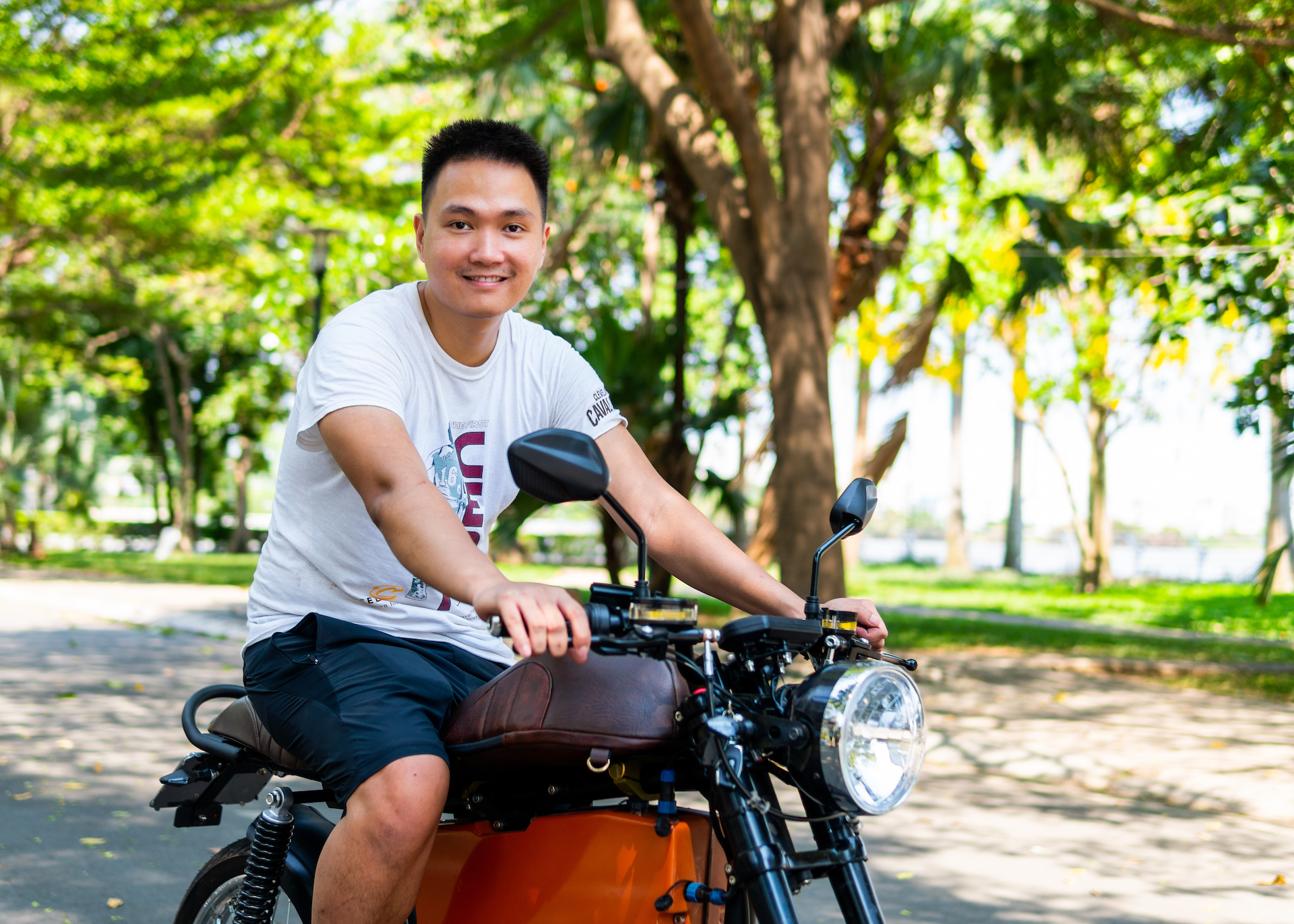 Son Nguyen, Founder and CEO of Dat Bike