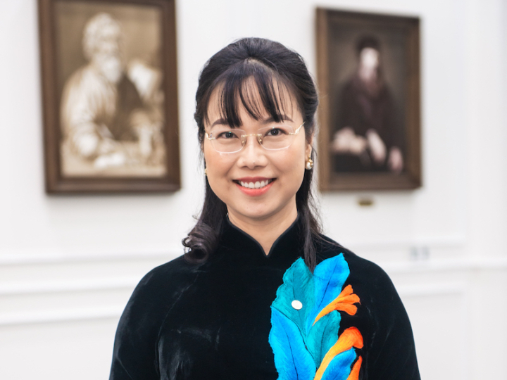 Dr. Le Mai Lan, Vice Chairwoman of Vingroup and Designated Representative of the VinFuture Foundation