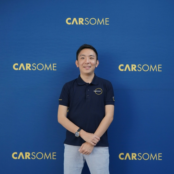 Eric Cheng, CEO of Carsome Group